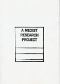 N.O. Cantsin - A Neoist Research Project