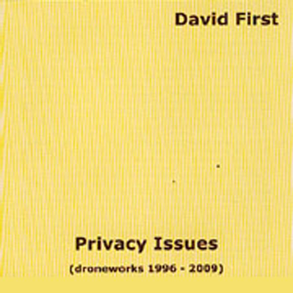 David First_Privacy Issues