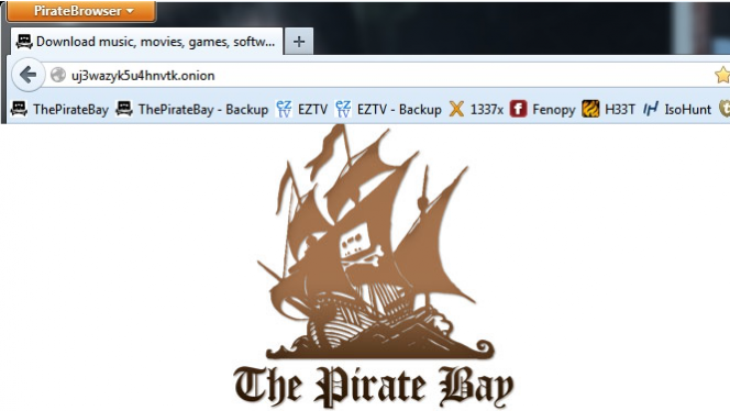Pirate Browser, the Pirate Bay browser