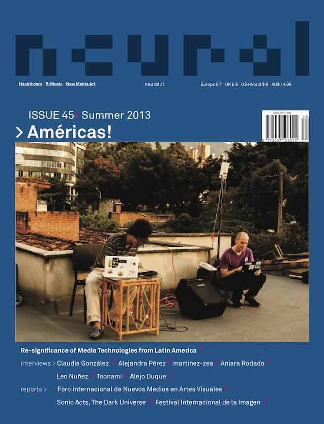 Neural issue 45, cover, Americas, summer 2013
