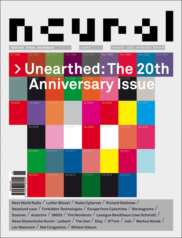 Neural 46, Unearthed: The 20th Anniversary Issue