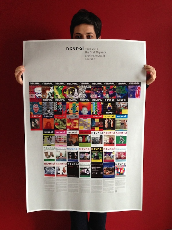 Poster 20th anniversary issue #46
