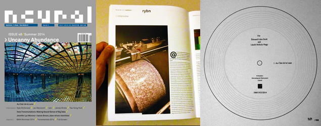 Neural 48 cover inside paper record
