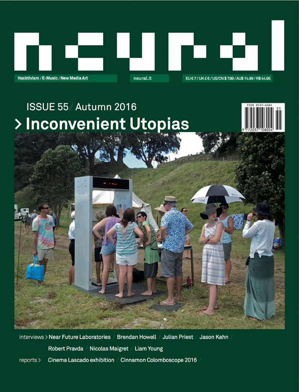 Neural 55 cover Inconvenient Utopias